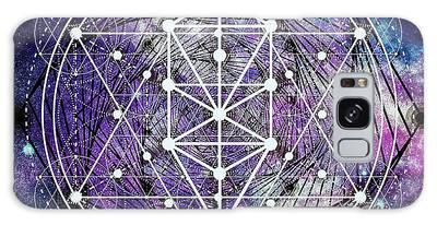 Galaxy Case featuring the digital art Spirals by Bee-Bee Deigner