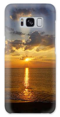 Spiritual Sunrise Galaxy Case