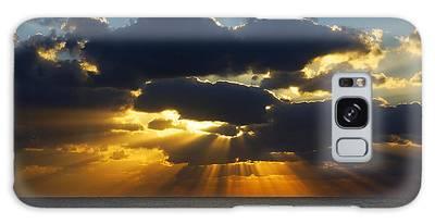 Spiritually Uplifting Sunrise Galaxy Case