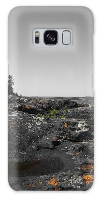 Spotted Rocks Galaxy Case