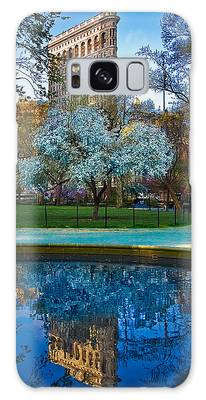 Spring In Madison Square Park Galaxy Case