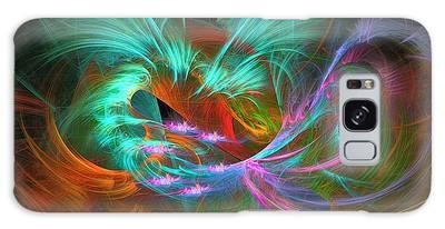 Spring Riot - Abstract Art Galaxy Case