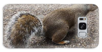 Squirrel Side Galaxy Case