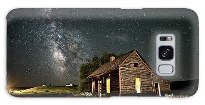 Star Valley Cabin Galaxy Case