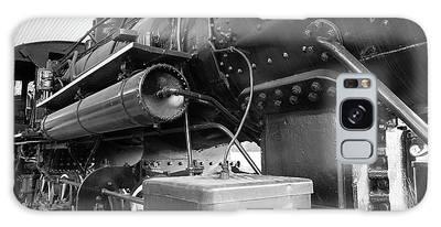Steam Locomotive Side View Galaxy Case