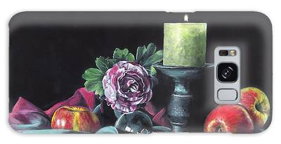Still Life With Candle Galaxy Case