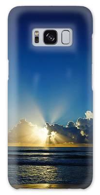 Sun Ray Sunrise Galaxy Case