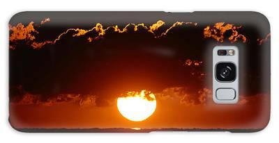 Sunrise Crown Galaxy Case