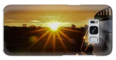 Sunrise And My Ride Galaxy Case