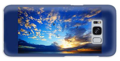 Sunrise Freedom Galaxy Case