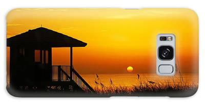 Sunrise Lifeguard Station Galaxy Case
