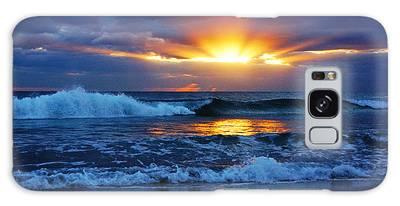 Sunrise Light Wave  Galaxy Case