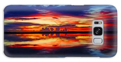 Sunrise Rainbow Reflection Galaxy Case