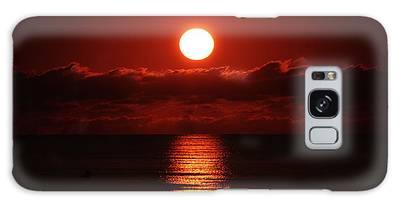 Sunrise Spotlight Delray Beach Florida Galaxy Case