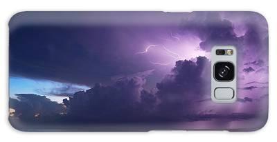 Sunrise Thunderstorm Galaxy Case
