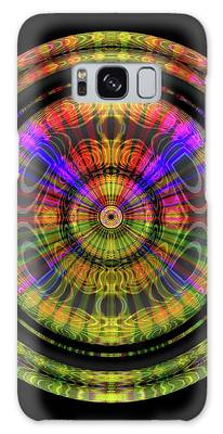 Sunset 3, Series II Galaxy Case by Visual Artist Frank Bonilla