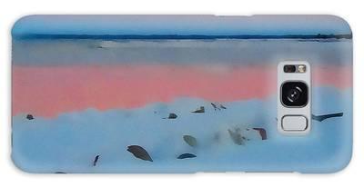 Sunset On Georgian Bay Galaxy Case