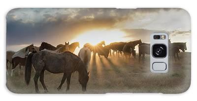 Sunset Serenade  Galaxy Case