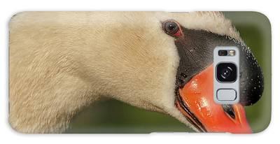 Swan Headshot Galaxy Case