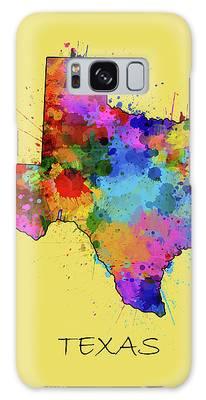 Central Texas Digital Art Galaxy Cases