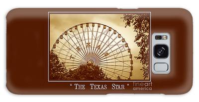 Texas Star In Gold Galaxy Case