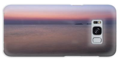 Dawn At The Mediterranean Sea Galaxy Case