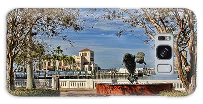 The Downtown Bradenton Waterfront Galaxy Case