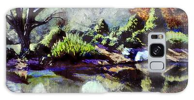 Brookside Gardens Paintings Galaxy Cases