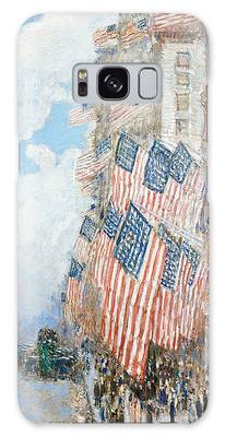 American Impressionist Paintings Galaxy Cases