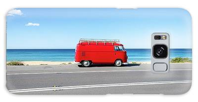 The Red Kombi Galaxy Case
