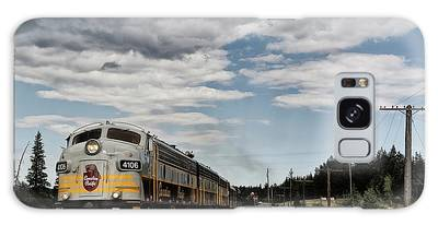 Galaxy Case featuring the photograph The Royal Canadian Pacific  by Brad Allen Fine Art