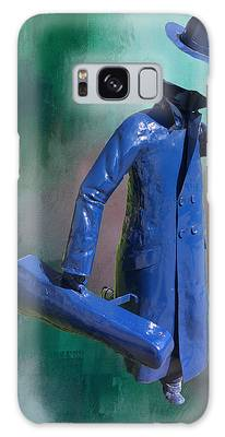The Running Man Galaxy Case by Ericamaxine Price