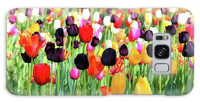 Galaxy Case featuring the photograph The Season Of Tulips by Cynthia Guinn