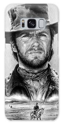 Cowboy Drawings Galaxy Cases