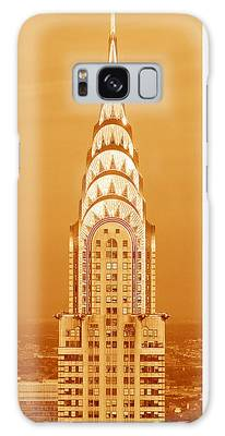 Chrysler Building Photographs Galaxy Cases