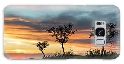 Three Trees On A Hill Galaxy Case
