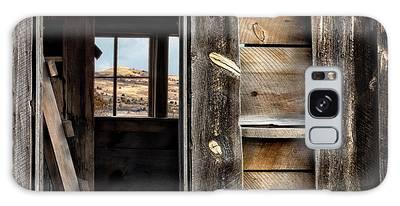 Through Cabin Window Galaxy Case