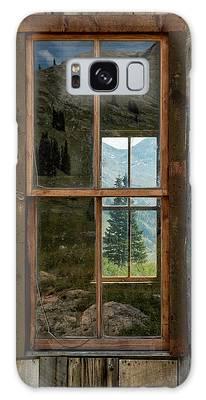 Through Yonder Window Galaxy Case