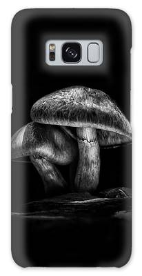 Galaxy Case featuring the photograph Toadstools On A Toronto Trail No 2 by Brian Carson