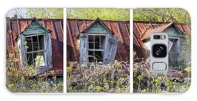 Triptych Windows Galaxy Case