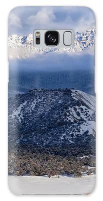Turret Ridge In Winter Galaxy Case
