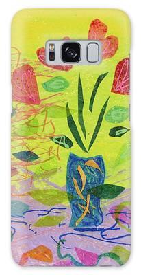 Vase Full Of Love Galaxy Case
