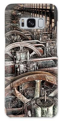 Vintage Machinery Galaxy Case