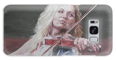Violin Solo Galaxy Case