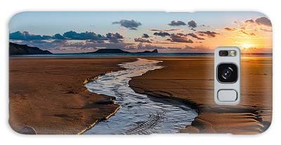 Wales Gower Coast Galaxy Case
