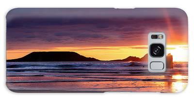 Wales Gower Coast Helvetia Galaxy Case