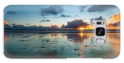 Wales Gower Coast Summer  Galaxy Case