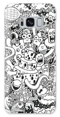 Pen And Ink Drawing Drawings Galaxy Cases
