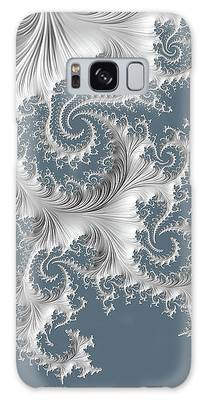 Galaxy Case featuring the digital art Wedgwood by Susan Maxwell Schmidt