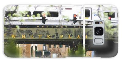 Galaxy Case featuring the photograph White Plains Train Station by Ericamaxine Price